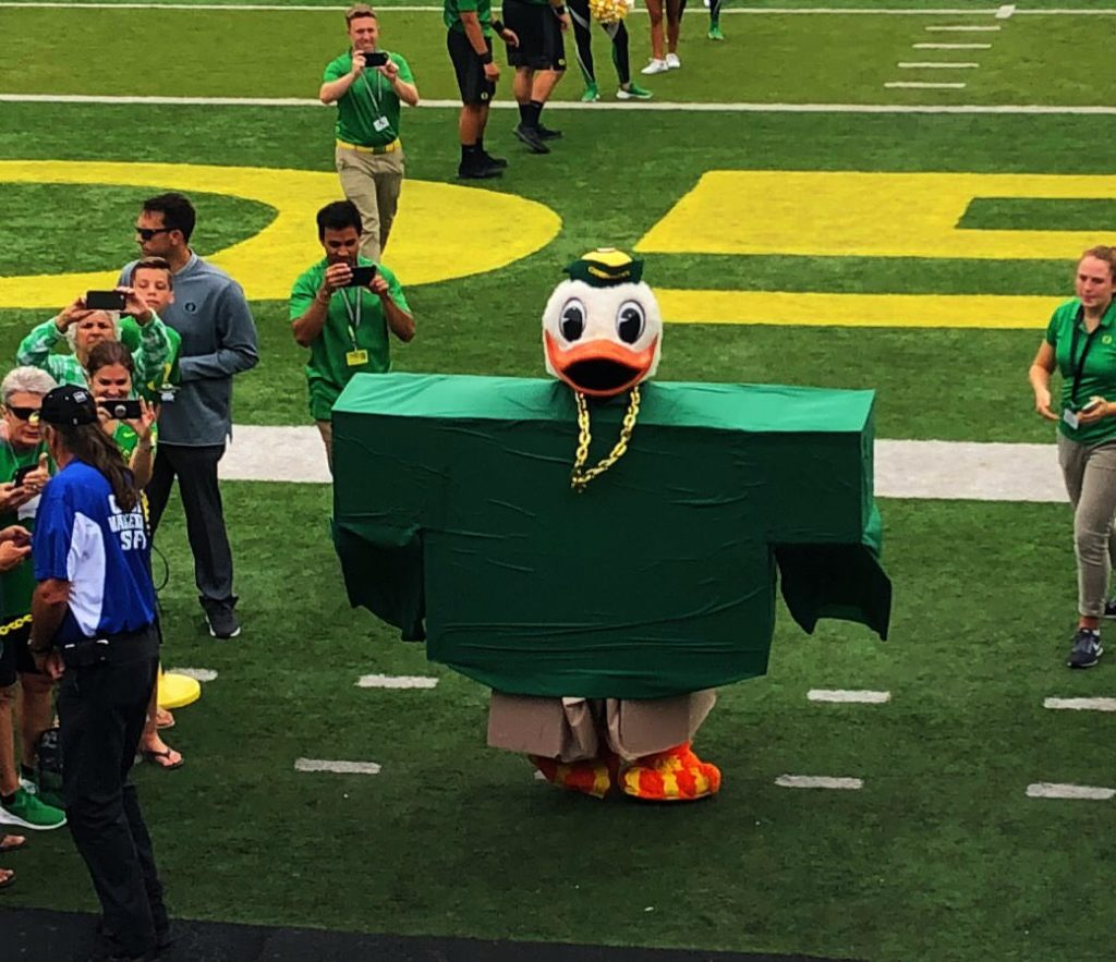 Puddles the Duck