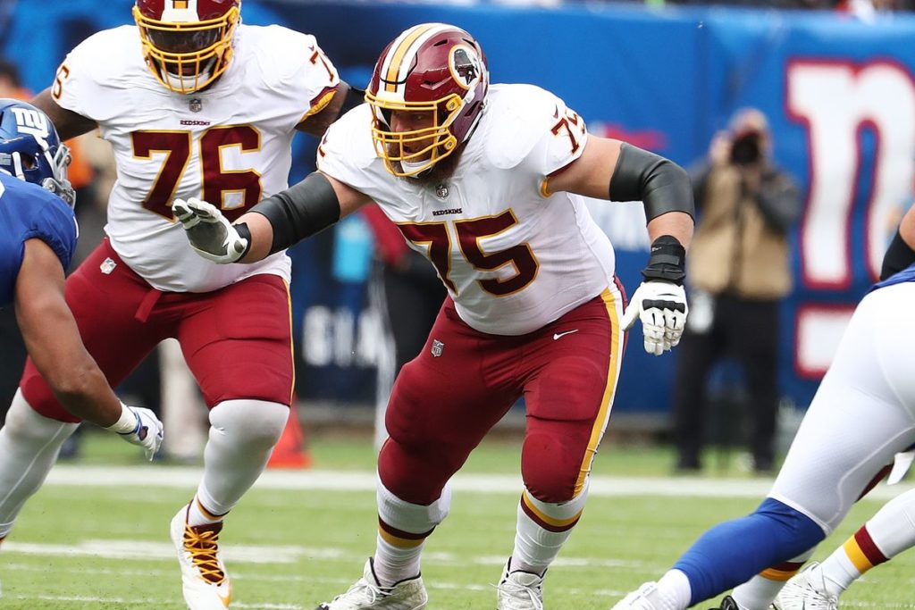 BRandon Scherff Redskins
