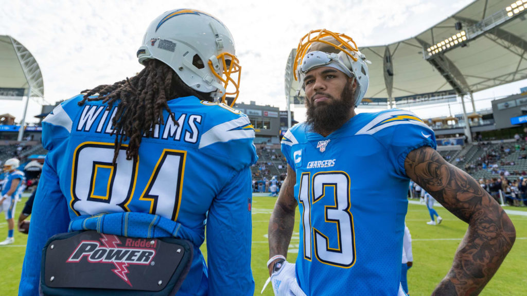 Keenan Allen and Mike Williams