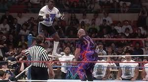 Bam Bam Bigelow vs Lawrence Taylor